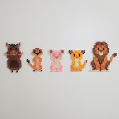 The Lion King perler