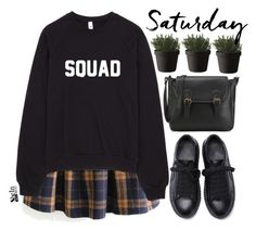 """Squad"" by mihreta-m ❤ liked on Polyvore featuring WithChic and Muuto"
