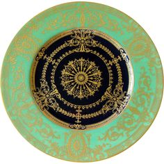 (6) Antique Royal Worcester Plates w/cobalt well