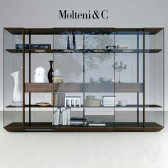 Glass Shelves For Bookcase Info: 5926978304 Shelving Design, Shelving Systems, Shelf Design, Glass Wall Shelves, Display Shelves, Sideboard Cabinet, Cabinet Furniture, Modern Furniture, Furniture Design