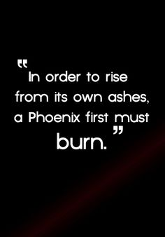 order to rise from its own ashes a Phoenix first must burn. In order to rise from its own ashes a Phoenix first must burn. Sometimes a blessing, sometimes a curse. I have always been sensitive and felt ALL emotions deeply. Great Quotes, Quotes To Live By, Me Quotes, Motivational Quotes, Inspirational Quotes, Motivational Affirmations, Random Quotes, The Words, Le Divorce