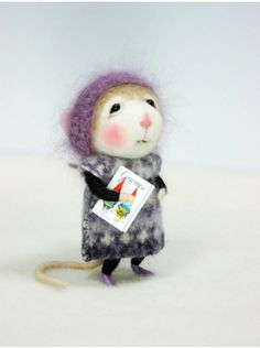 """The American artists barby303 chaomeng wool felt dolls"""