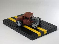 Ce micro LEGO Hot Rod est non seulement une beauté, mais il s'agit surtout de l'utilisation de pièce la plus originale de la semaine !