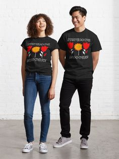 """""""Let's Root For Each Other And Watch Each Other Grow - Funny Flowers Garden Lovers"""" T-shirt by mystickeer 