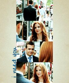 Harvey and Donna, Asterisk episode; season 2 of Suits