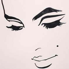 Edie. What I love most about fashion illustration is the abbreviated lines. This was a fun one. -- Regina Yazdi