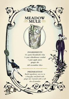Meadow Mule Gin Cocktail