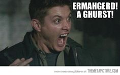 Dean Winchester! Ahahaha!!