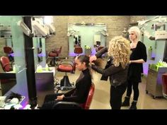 ▶ How to De-Frizz Curly Hair - YouTube  Lorraine Massey , curly hair genius.