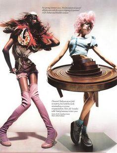Intriguing fashion shots