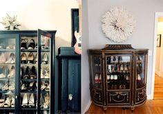 shoe closet - vintage furniture