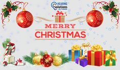 From our hearing solution team, we would like to wish you all a safe and Merry Christmas! We hope you all have a fantastic time whatever your plans and please spare a thought for those who will be working over Christmas to keep us safe.
