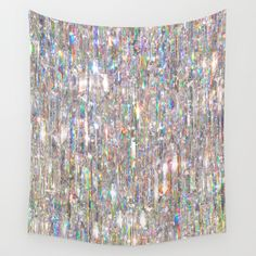 To Love Beauty Is To See Light (Crystal Prism Abstract) Wall Tapestry Outside Wall Art, Outdoor Wall Art, Anchor Home Decor, Home Wall Decor, Frozen Art, Crystals In The Home, Crystal Wall, Light Reflection, Abstract Wall Art