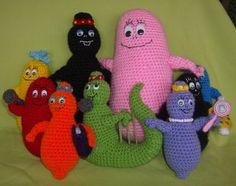 barbapapà family... I have to make them!