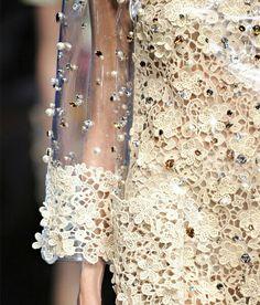 Embellished lace