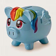 Equestria Daily: Twilight Sparkle and Rainbow Dash Piggie Banks Pop Up