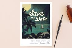 Did you just get engaged? Congratulations! One of my favorite things to look at right after I set my wedding date was to look at save the dates & wedding invites.