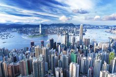 Hong Kong, same summer project as Philippines, stopped there waiting for passage to China.  Biggest city ever!