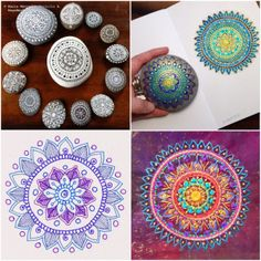 Such a cool interview with the artist who makes these amazing mandalas - including a tutorial and free printable!