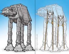 What's really inside the AT-AT
