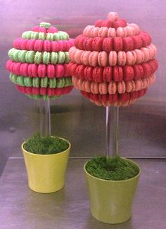 Macaron Tree Displays