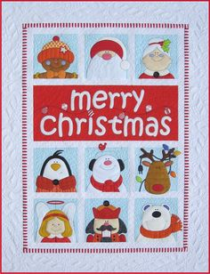 Merry Christmas by Amy Bradley Designs. I got the pattern for this last Christmas :D