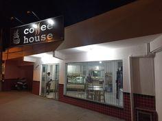 Logotipo que desenvolvi para a loja de meu sobrinho na Penha-SC.  Coffee House Av. Engênio Krause, 2096. Penha-SC