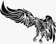 Image detail for -Tribal Eagle 2010 / Eagle Tattoo Designs / Free Tattoo Designs Eagle Wing Tattoos, Tribal Eagle Tattoo, Tribal Phoenix Tattoo, Tribal Art, Trendy Tattoos, Cool Tattoos, Maori Tattoo Frau, Fenix Tattoo, Adler Tattoo