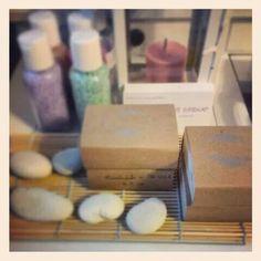 Soap and salt aromatherapy handmade