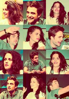 Comic Con 2012<3  I love Kristen's lips that color looks amazing on her, and Hot Pick is my favorite color :)