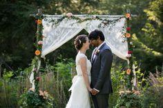 Southern Backyard Wedding - Rustic Wedding Chic