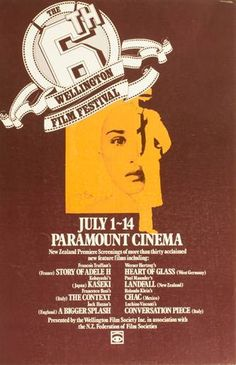 1977 #nziff New Zealand International Film Festival