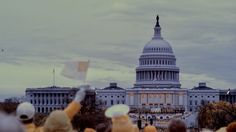 The Trump inauguration seen in infrared