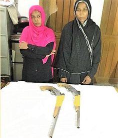 চট্টগ্রামে দুটি দেশিয় তৈরিবন্ধুকসহ দুই নারী গ্রেফতার - http://paathok.news/2947