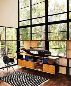Eames House in Pacific Palisades | The Gorgeous Daily
