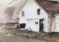 """""""The Sleigh"""" ... by Andrew Wyeth"""
