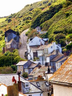 In Cornwall, England. Cornwall England, North Cornwall, Devon And Cornwall, Yorkshire England, London England, Oxford England, Yorkshire Dales, North Wales, Paisajes