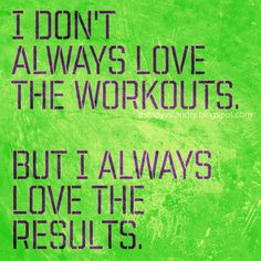 Doesn't always have to do with workout either. This is true for life's challenges too