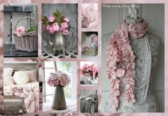 Collages my passion Collages, Beautiful Collage, Life Is Beautiful, Shabby Chic Cottage, Shabby Chic Homes, Art Boards, Mood Boards, Gris Rose, All Nature