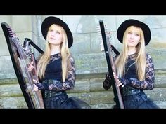 Pachelbel's Canon in D (Harp Twins electric) Camille and Kennerly - YouTube