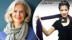 25 sätt att knyta en sjal