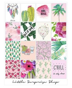 Chill Time Stickers For Erin Condren