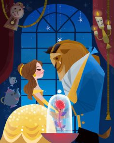 Beauty and the Beast  by Joey Chou