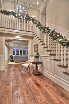 Harbor View traditional staircase