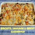biscuit gravy casserole at the Tasty Fork