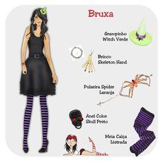 Cookie Plushie: Especial Halloween - Bruxa
