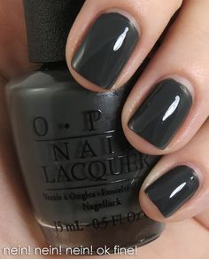OPI Germany Collection for Fall/Winter 2012