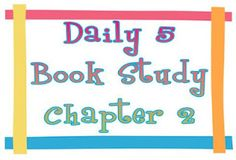 Seusstastic Classroom Inspirations: Daily 5 Chapter 2 & Memories of My Beloved Nephew