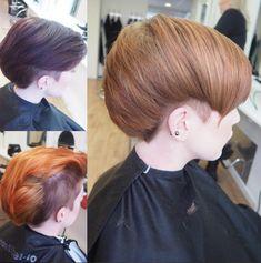 Coupes de cheveux courts avec les côtés rasés pour les femmes 7
