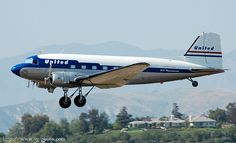 Van Gilder Aviation Photography, QB-36- DC-3 airliner